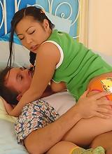 Cute Asian Teen Gets It Hard