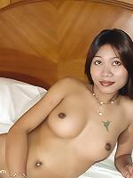 Thai girl Gulp naked