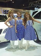 Thai autoshow models