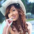 Breasty Miky Otaka Poolside Masturbate