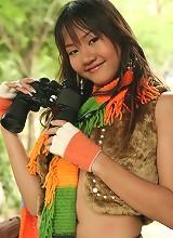 Cutie Amber Chan Wildlife Watching Strip