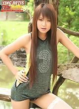 Thai Cutie Ying Artis Nude Tease
