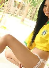 Lin Si Yee Brazil World Cup Strip