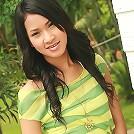 Thai girlfriend posing naked, give
