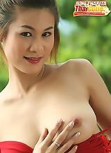 Breasty June Tharita Rooftop Strip