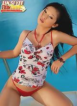 Pretty Lin Si Yee Pool Strip