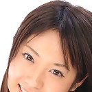 Mayumi Uekusa adorable model posing in a white and pink bikini