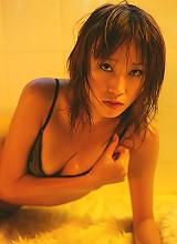 Delectable asian hottie has a sweet little body in lingerie