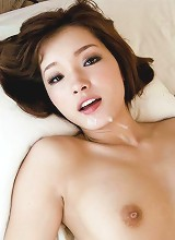 Perky Mei Haruka's trimmed pussy split by a big dick