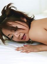 Yuu Shiraishi Asian is doggy fucked after getting vibrator too