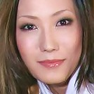 Horny Yui Komine looking hot on her knees sucking cock