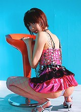 Cute playful Miriya Hazuki ends up with cream in her tiny hole
