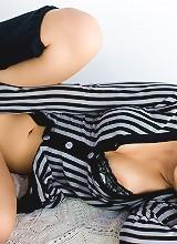 Japanese AV Model Kazuki Asou Shows Her Perfect Body