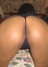 Long-legged Pinay babe rides white dick til she cums