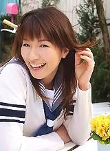 Towa Aino smiles