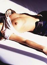 Naughty Asian model
