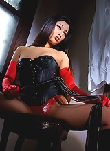 Bossy Asian model