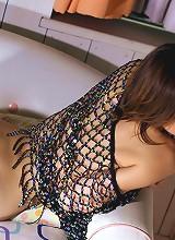 Cute Japanese model