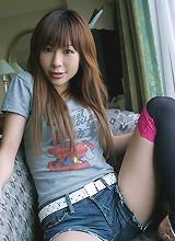 Adorable Asian teen