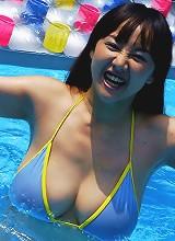 Slut models kimono