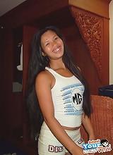 Tight body Thai girlfriend sucks and fucks and gets a cum blast on her ass
