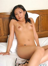 Lynda Nguyen dropping white panties