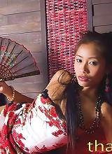 Thainee posing as a sweet Thai princess