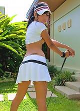 Dirty Asian Slut plays Tiger Woods