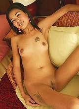 Beautiful tiny Asian shows her amazing ass