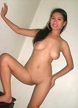 Mega breasted manila bombshell jinky goes nude