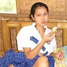 Freaky Filipina slut jumps in