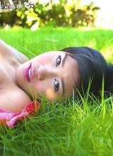 Naked In Her Backyard