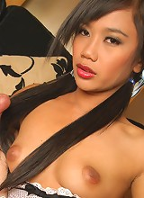 Thai Sherri sucking cock