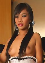 Thai girl Sherri showing it all